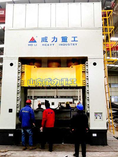 1000吨斗齿快速锻造液压机